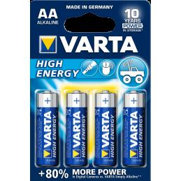 Batteri Varta High Energi AA 4-pack