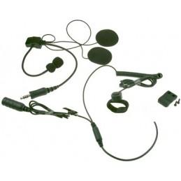 Maas Hs-6000-k Headset för öppen hjälm