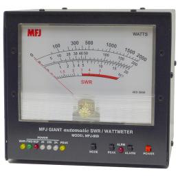 MFJ-869 STOR Hel automatisk SWR-mätare 1,8-60 MHz