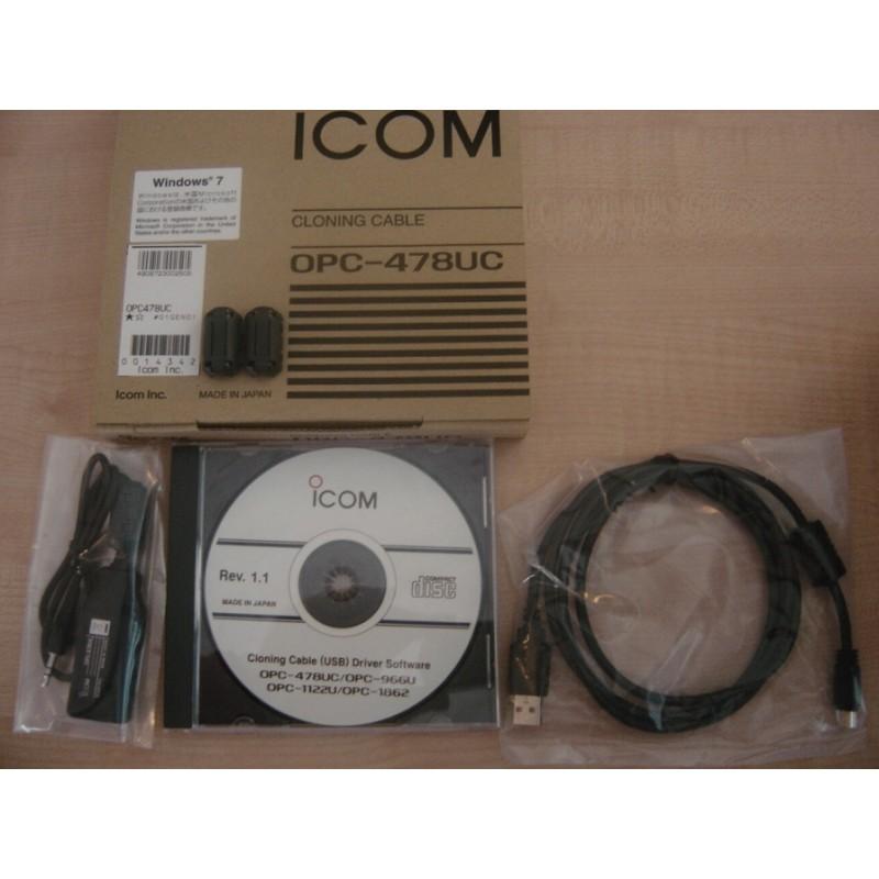 Icom OPC-478UC USB PC kabel för programmering