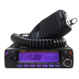 Alinco DR-635 Dual-band mobilstation 144/430 MHz 50/35 W