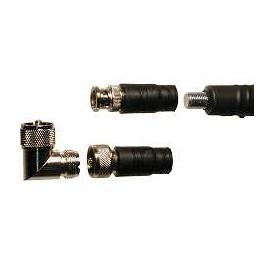 ATX-1080 Mk2 inkl Adapter för BNC, PL, 3/8