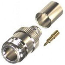 Connector N female crimp...