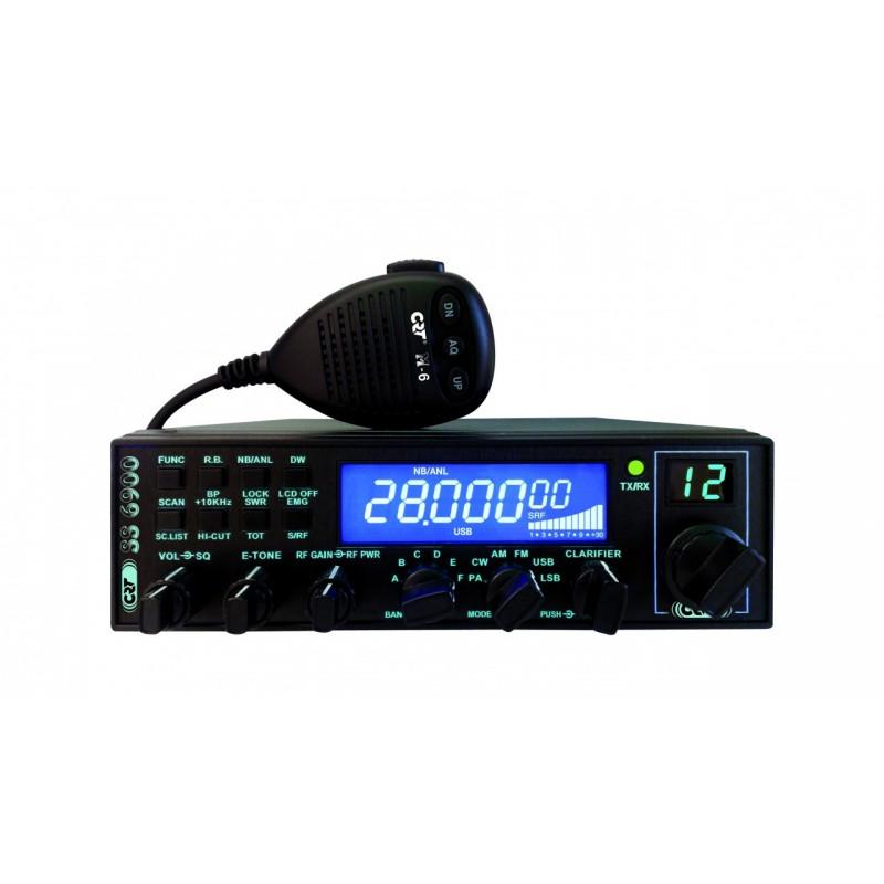 CRT SS-6900N Allmode Blå display