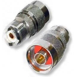 Adapter So-239 till N hane