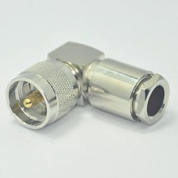 Connector PL-259 angle for...