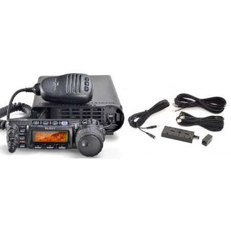 Yaesu FT-857D HF/144/432Mhz inkl YSK-857