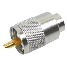 Connector PL 259/6mm for RG-58