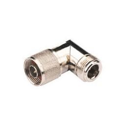 Adapter N angle male/female