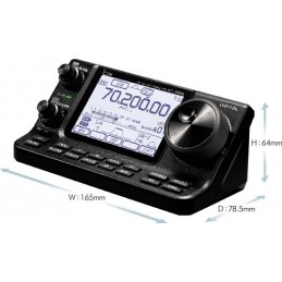 Icom IC-7100 only the front...