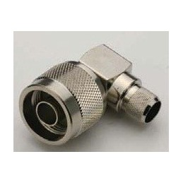 Connector N male angle...