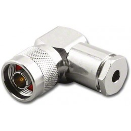 Connector N male angle RG-58