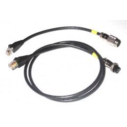 Yaesu Mic Adapt Cable Y