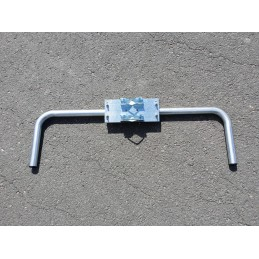 Mast mount with dual horns