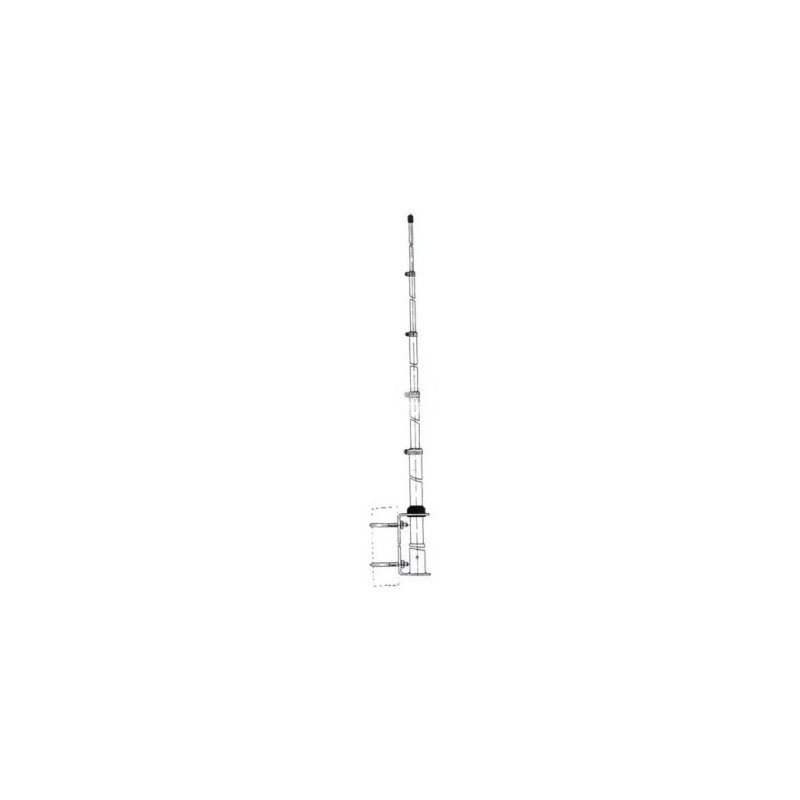 27½ Bas antenn