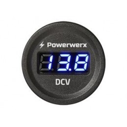 Volt meter for installation