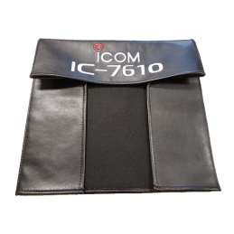 Dust cover for Icom IC-7610