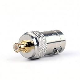 Adapter MCX male BNC female