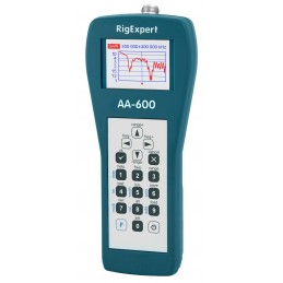 RigExpert AA-600 - Antenna Analyzer 0.1 - 600 MHz