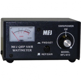 MFJ-813 SWR meter for QRP