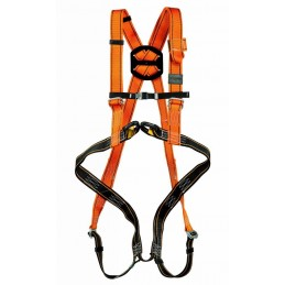 Fall arrest harness with...