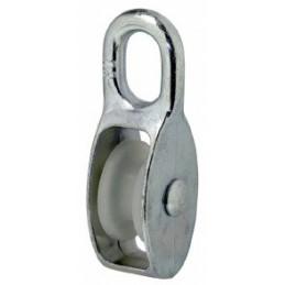 Talja med nylon hjul 10mm