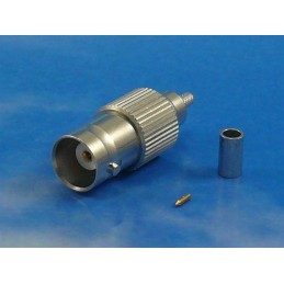 Connector BNC Female Crimp RG-174/RG-316