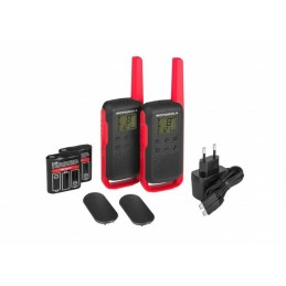 Motorola T62 RED 2-pack PMR...