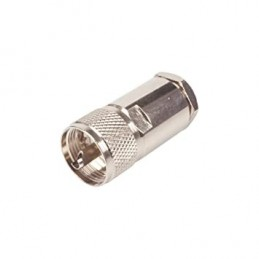 Connector PL-259 male for...