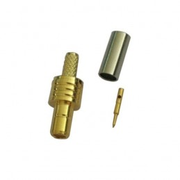 Connector SMB male crimp...