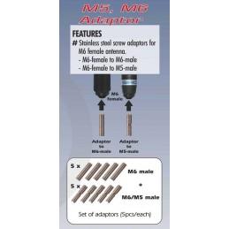Sirio Adapter kit M6, M5