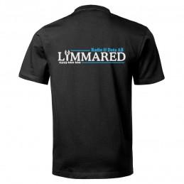Svart T-shirt med logga