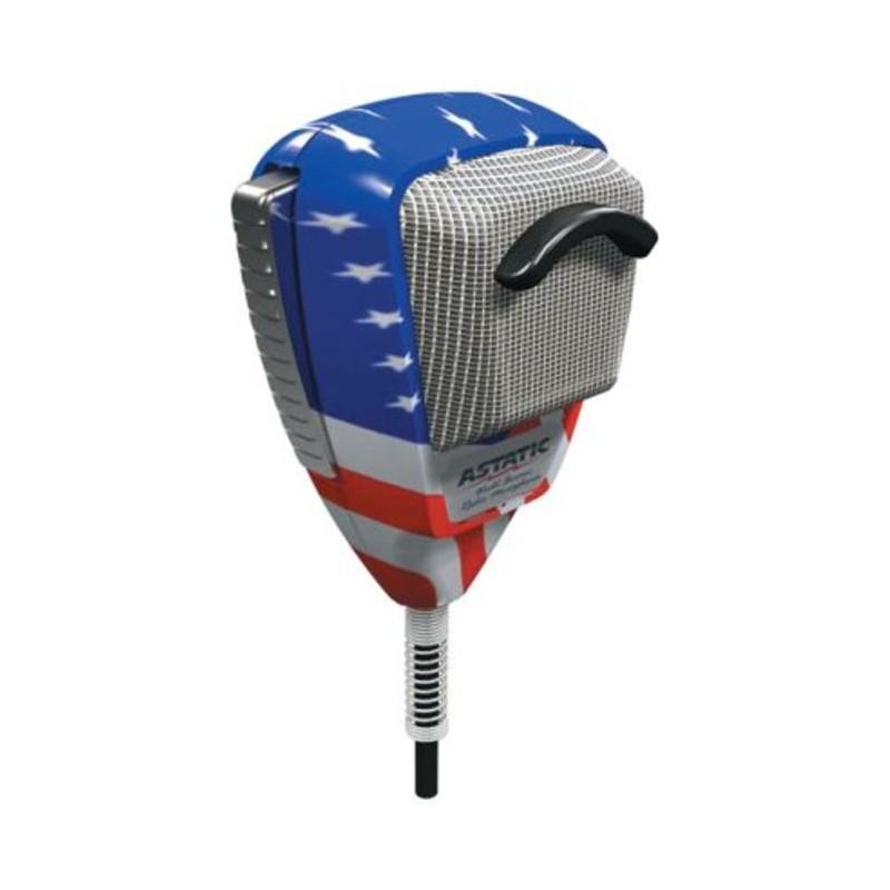 Astatic 636-L USA flagga