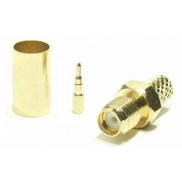 Connector RP SMA female for...