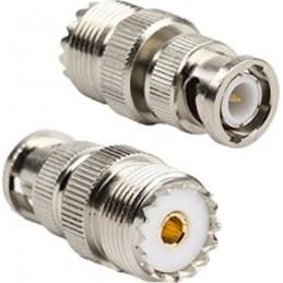 Adapter BNC hane - SO-239 hona