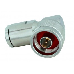Connector N male r.-angle...