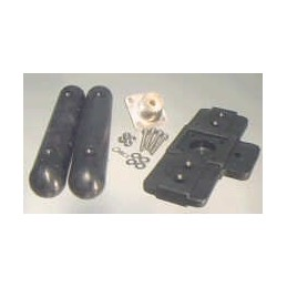 Dipol kit for coax feeding
