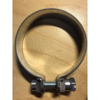Mast and pipe clamp