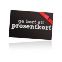 Gift card at Limmared